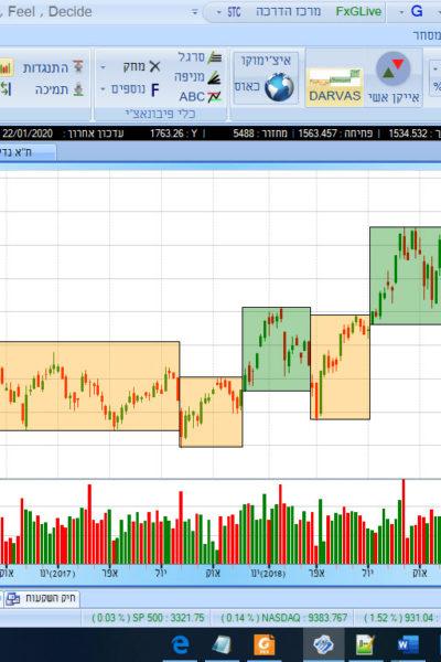 דוגמא של תוכנת המניות